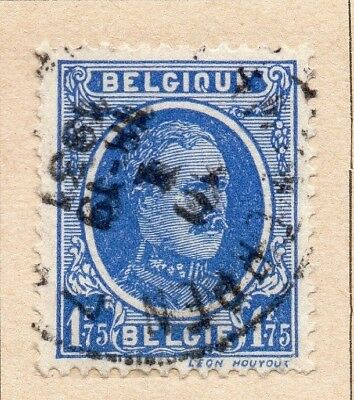 Belgium 1927-29 Early Issue Fine Used 1.75F. 214082