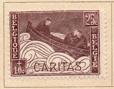 Belgium 1927 Early Issue Fine Mint Hinged 25c. 214083