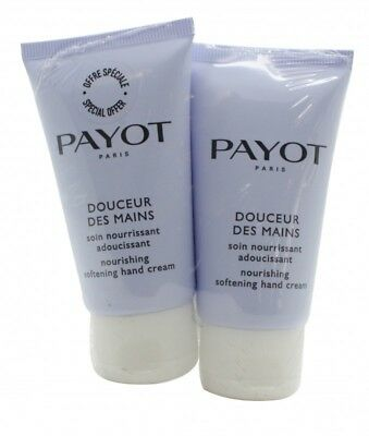 Payot Le Corps Douceur Des Mains Gift Set 2 X 50Ml Hand Cream - Women's. New