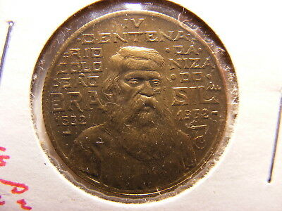 Brazil 500 Reis, 1932, 400th Anniversary of Colonization, Uncirculated