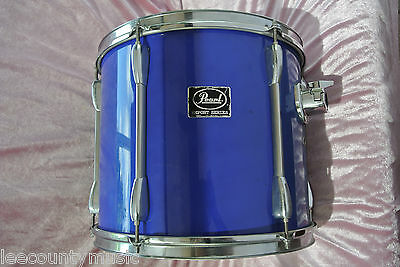 """ADD this PEARL EXPORT SERIES 14"""" BLUE RACK TOM to YOUR DRUM SET TODAY! LOT #T709"""