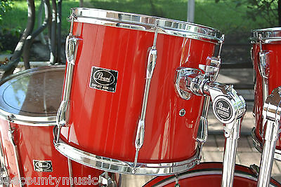 """ADD this PEARL EXPORT SERIES 13"""" RED TOM to YOUR DRUM SET TODAY! #J140"""