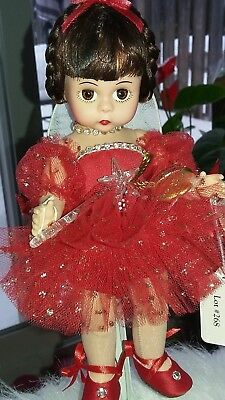 "RARE  MADAME ALEXANDER Diamond Pixie  DOLL 8"" Limited Edition of 800 NEW COA LE"