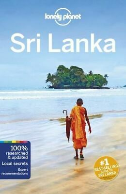 NEW Sri Lanka By  Lonely Planet Travel Guide Paperback Free Shipping