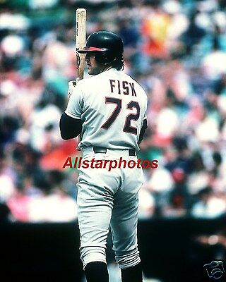 Carlton Fisk Chicago White Sox Hitting 8 x 10 Photo Picture #h1