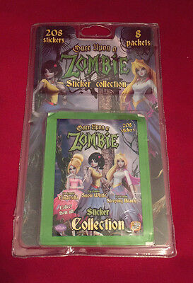 60 Packs NEW Once Upon a Zombie Stickers Unopened Giromax Up on Sticker