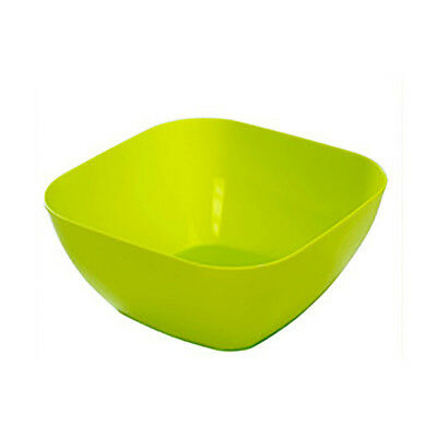 Plastic Square Snack Reusable Bowls Durable Cutlery Party Dinner Supplies DW