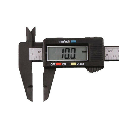 "Plastic 150MM 6"" Digital Electronic Vernier Caliper Gauge Micrometer WYS Sales"