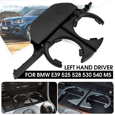 Console Front Retractable Drink Cup Holder For BMW E39 525 528 530 540 M5 LHD