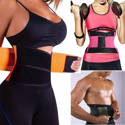20a9d97242be9 Xtreme Belt Hot Power Slimming Yoga Body Shaper Waist Trainer Trimmer Sport  Gym
