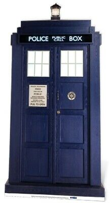 Pappaufsteller (Stand-Up) Doctor Who Tardis 2/3 Lifesize (192 cm)