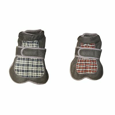 Happy Pet Products - Abrigo de tweed modelo Go Walk para perros (VP3305)