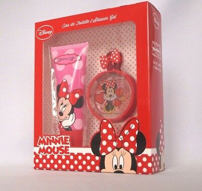 DISNEY - MINNIE MOUSE - Eau de Toilette 50ml + Shower Gel 100 ml Set #77-3-3