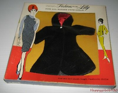Vintage P.M.A. Fashion Coat For Lilly Fits all Barbie Type Dolls NRFB