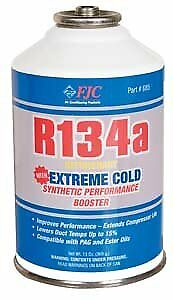 Fjc Inc. 685 R134a And Extreme Cold 13oz Synthetic Performance Booster.