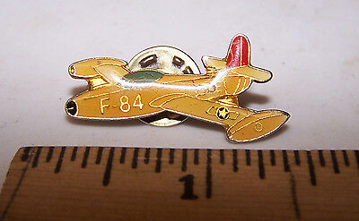 F-84 Airplane Fighter Bomber Airplane Jet - Hat / Lapel