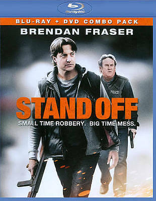 Stand Off (Blu-ray/DVD, 2013, 2-Disc Set) NEW! Brendan Fraser FACTORY SEALED