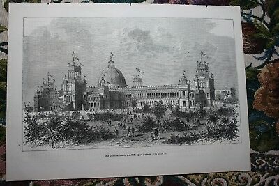 1881  Stich 66 / Sydney Australien Internationale Ausstellung