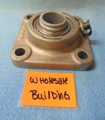 "Fafnir 4-Bolt Flange Bearing Unit Rcj 1 Nt, 1"" Bore, 3.75"" Length, No Collar"