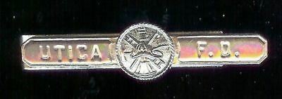Utica F.D. obsolete tie bar silvpl