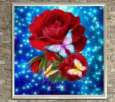 "Diamond Painting - Diamant Malerei - Stickerei - ""Rosen"" (29)"