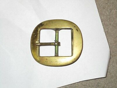 Vintage Navy Anchor Antique  Belt Buckle Solid Brass