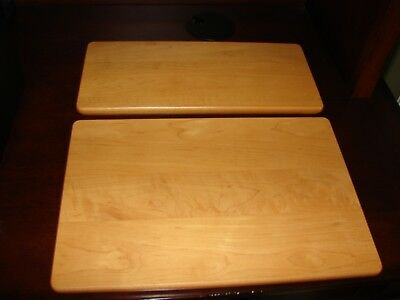 Longaberger Classic Stain Wood Shelves for Wrought Iron Small Bakers Rack