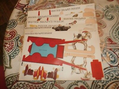 Vintage Antique Buster Brown's Parade Sheets Advertising Paper Dolls Toys