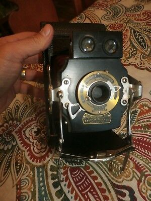 Vintage Antique Eastman Kodak Folding Pocket Camera No. 1A