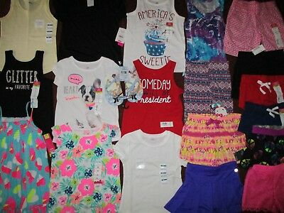 NWT'S  Girls 4 4T SUMMER Lot Clothes & Outfits Old Navy TCP Okie Dokie Disney