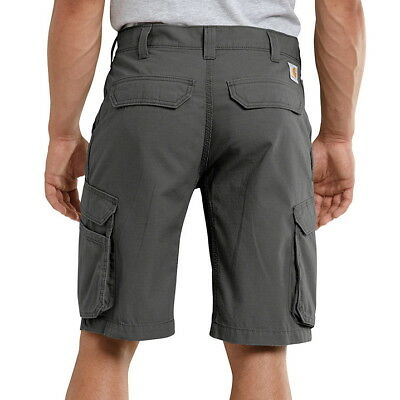 NWT 46 x 11 CARHARTT Relaxed Fit FORCE TAPPEN Ripstop CARGO SHORTS 101168 GRAVEL