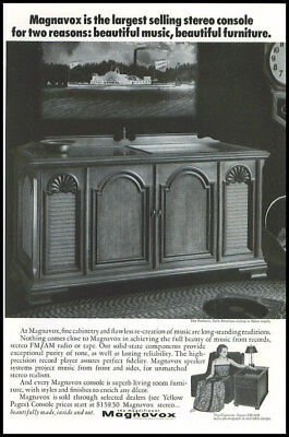 1969 vintage ad for Magnavox Stereo -164