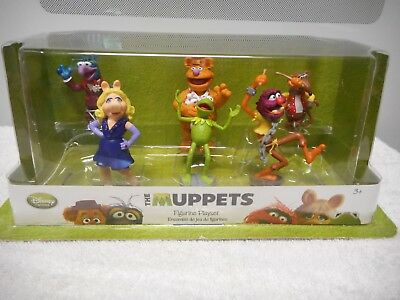 Disney Store  The Muppets Figurine Playset - New