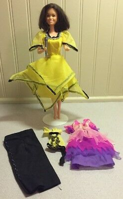 Marie Osmond barbie doll With Extra Outfit & Microphone
