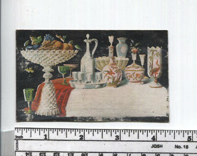 Antique AD Card - Middletown, CT - D.L. Weeks & Son, Crockery China Glass