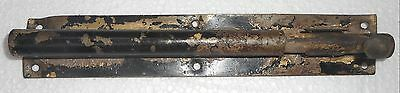 Vintage Door Sliding Barrel Bolt Cast Iron And Iron Made In India In2112