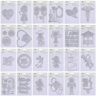 25 Styles Metal Die Cutting Dies Stencil For DIY Scrapbooking Paper Cards Decor