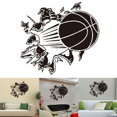 3d Wandtattoo Basketball Wandsticker Kinderzimmer Wandaufkleber Kind