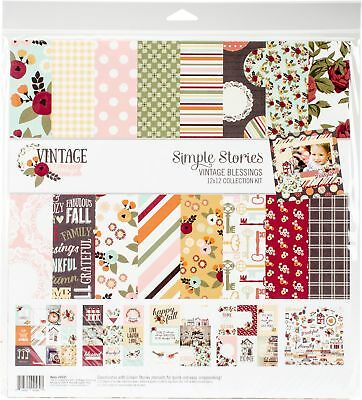 Simple Stories 9221 Vintage Blessings Collection Kit