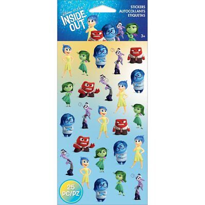Sticko 53-00085 Emotions Disney Inside Out Stickers, Multicolor