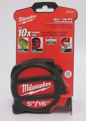 Milwaukee Professional Double sided Tape Measure 5m/16ft