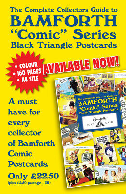 Bamforth Black Triangle Comic  Collectors  Guide Shown In Colour 160 Pages  New
