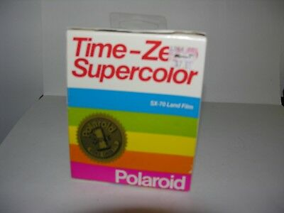 Polaroid Time Zero Super Color Film Polaroid SX70 Film NEW Land Film