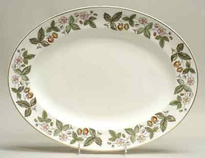 """Wedgwood STRAWBERRY HILL 15 1/4"""" Oval Serving Platter 794748"""