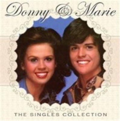 Donny And Marie Osmond-The Singles Collection  (UK IMPORT)  CD NEW