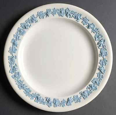 Wedgwood Blue ON CREAM COLOR Chop Plate (Round Platter) 4114604