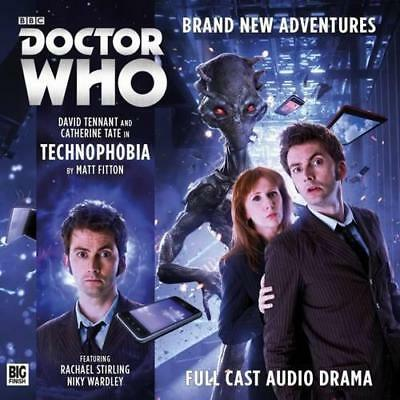 Technophobia: Tthe Tenth Doctor (Doctor Who) by Fitton, Matt   Audio CD Book   9