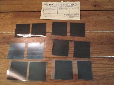 Lot of Vintage Photo Photograph Picture Negatives found in Duluth Antique Auctio