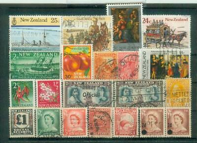 Lot Briefmarken aus Neuseeland
