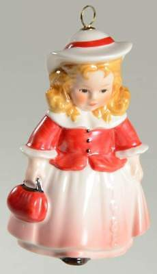 Goebel ANNUAL PORCELAIN CHRISTMAS ORNAMENT 1988 Doll 5435850